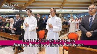 Institución Lectores: Marcos Rebollo y Alberto Rodríguez