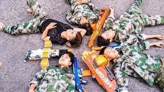 Hihahe Nerf War: SWAT & Special Sniper Nerf Guns Crime Group Rescue Princess Nerf