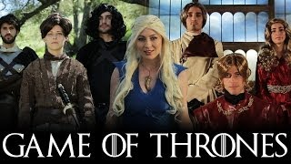 Repeat youtube video GAME OF THRONES MEDLEY (Monster, Roar, Demons, & Titanium Parody)