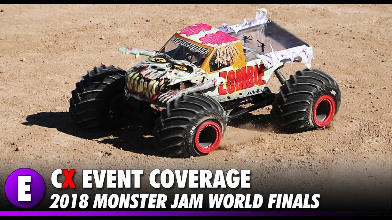 Event Coverage - RC Monster Jam World Finals 2018 - Sam Boyd