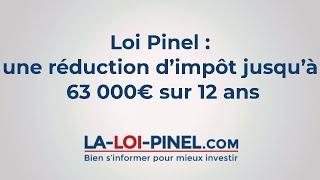 La loi Pinel 2016 - réduction d'impôt