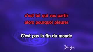 Karaoké Viens m'embrasser (Abrázame) - Julio Iglesias *