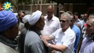 محافظ المنيا يعزى أسرة مجند شهيد أصيب بقذيفة هاون بسيناء