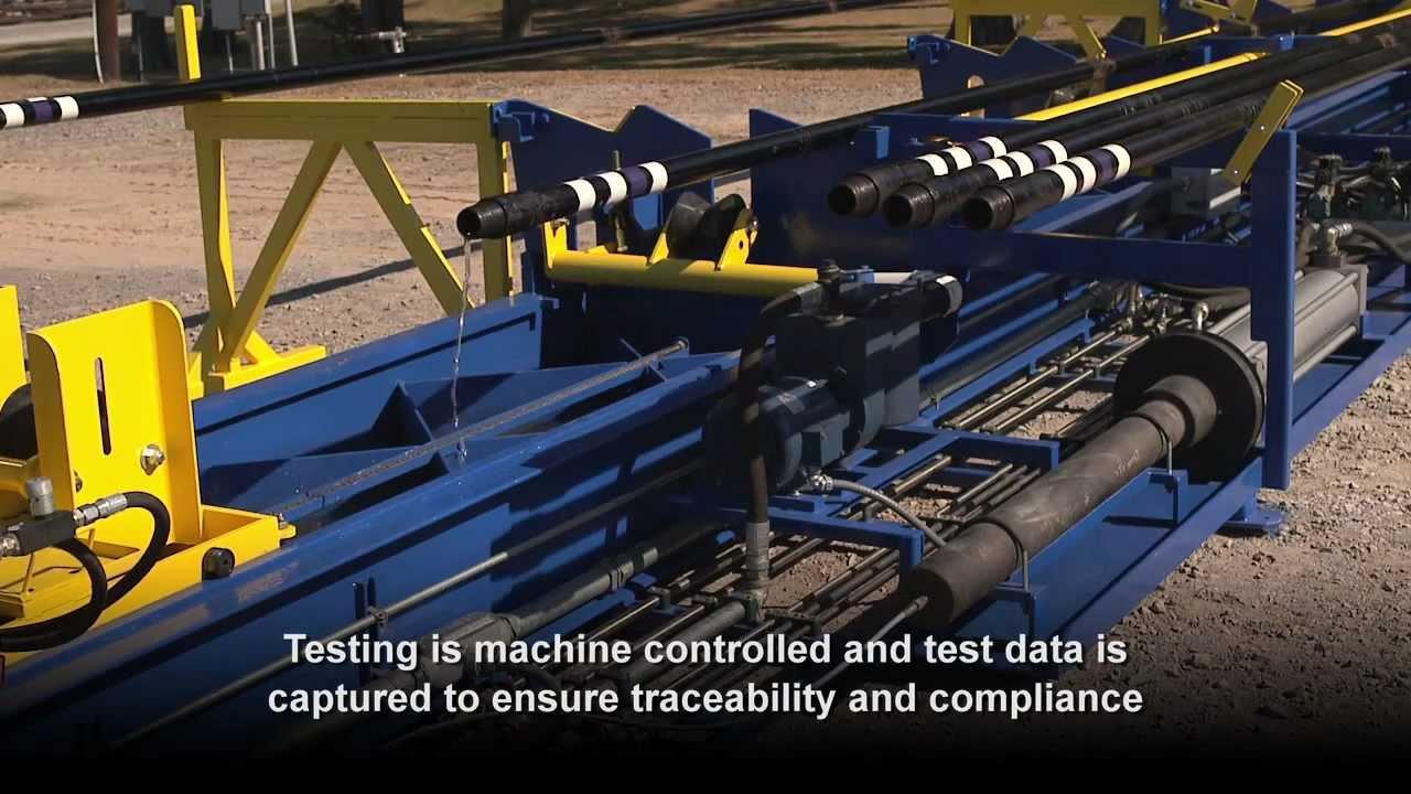 Hydrostatic Testing Unit