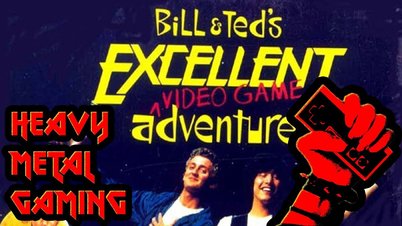 Bill And Ted Video Game