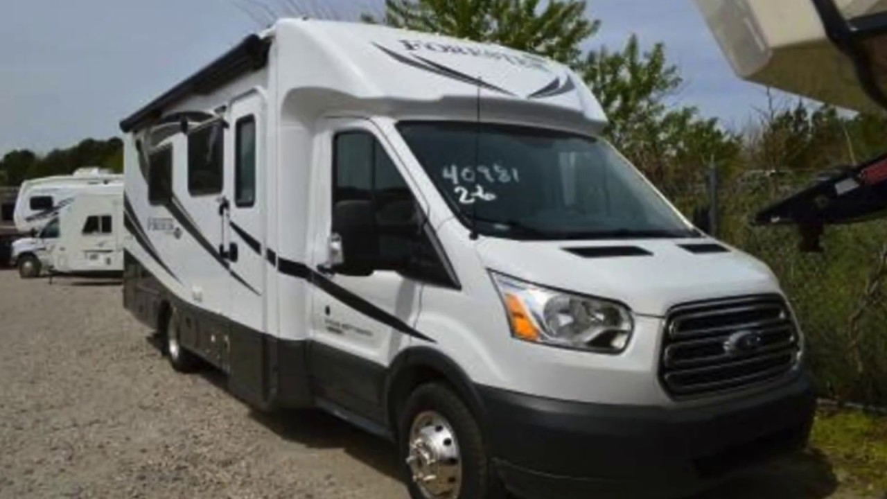 New 2018 Forest River Forester Ford Transit TS2371 Motorhome For Sale In Chesapeake VA