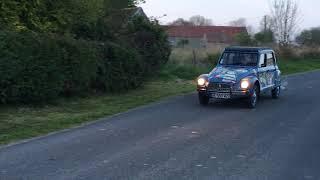 VanLuc customise une 2CV pour Lait-Douceur de Normandie... Et c'est parti ! Direction Arromanches.