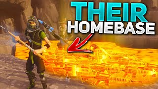 They got scammed in their own HOMEBASE... 🤣 (Scammer Gets Scammed) In Fortnite Save The World
