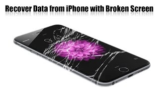Recover data from iphone with broken screen