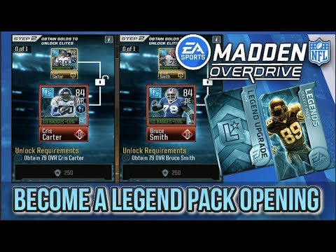 695948a3a MADDEN NFL OVERDRIVE BECOME A LEGEND EVENT PACK OPENING!