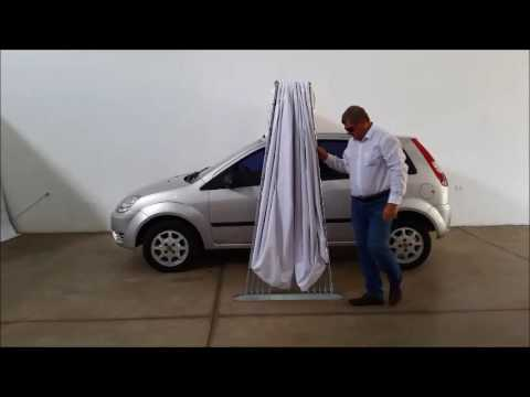 Garagem Flex Retr 225 Til Dupla Para Carro Tamanho P Capa