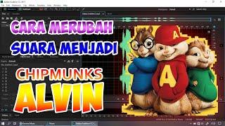 Cara Merubah EFEK SUARA Di Adobe Audition Menjadi Seperti Chipmunks