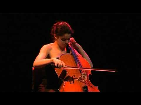 Estelle Revaz, Bach, Gigue, Cello suite no3