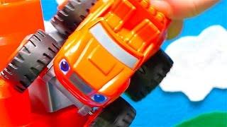 Blaze and the Monster Machines toys - Race tracks for kids - Big trucks - Monster trucks