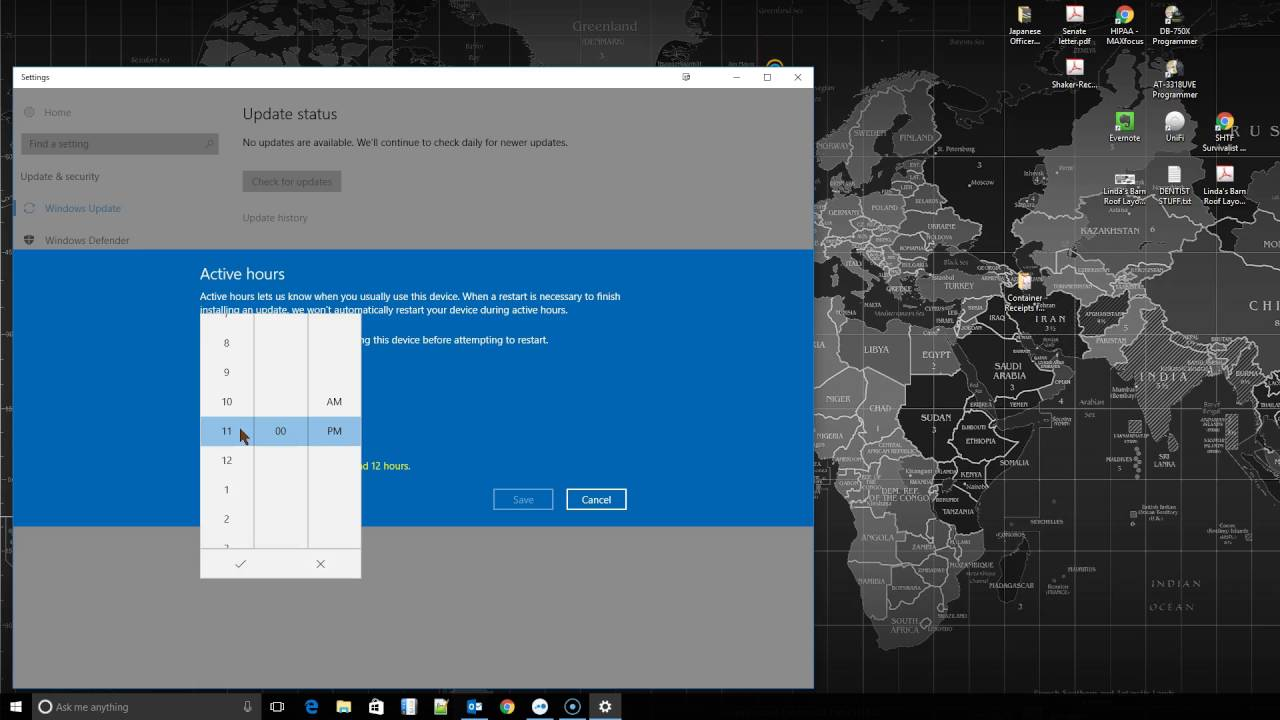 how to change windows 10 updates to manual