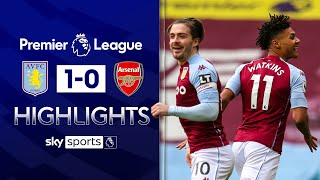 Villa capitalise on early Arsenal error | Aston Villa 1-0 Arsenal | Premier League Highlights