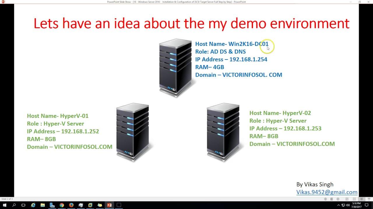 16 - Windows Server 2016 - Installation & Configuration of ...