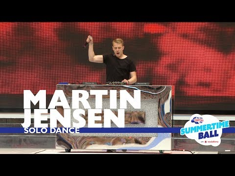 Martin Jensen  Solo Dance  At Capital's Summertime Ball 2017