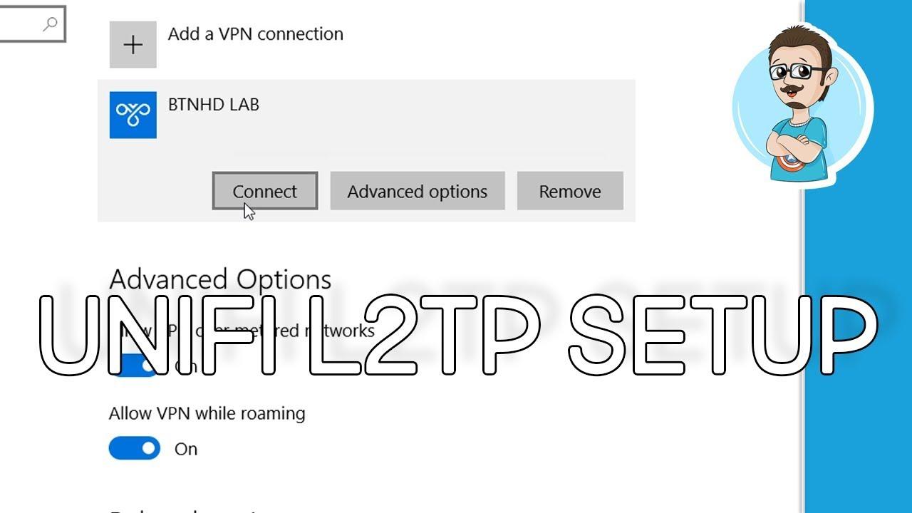 Configure L2TP Access on UniFi Security Gateway Router!