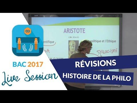 Bac 2017 - Révisions live de Philo : Histoire de la Philosophie