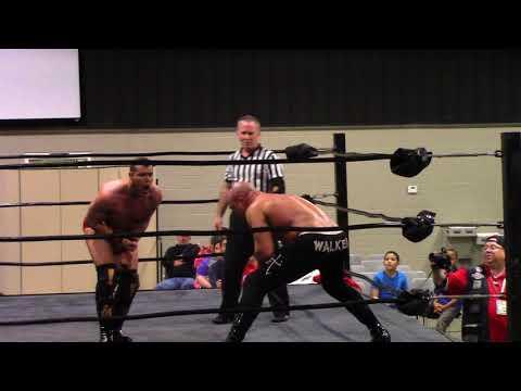 """""""The Exclamation Po!nt"""" Steve Anthony vs. Vordell Walker - Bayou Independent Wrestling"""