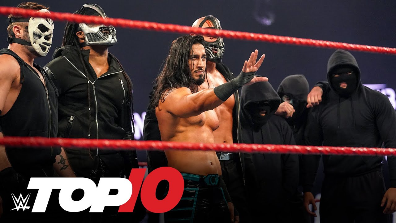 Top 10 Raw moments: WWE Top 10, October 5, 2020