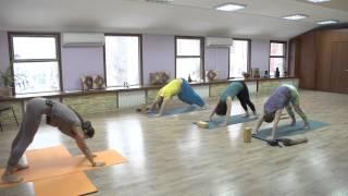 Йога - шестое занятие