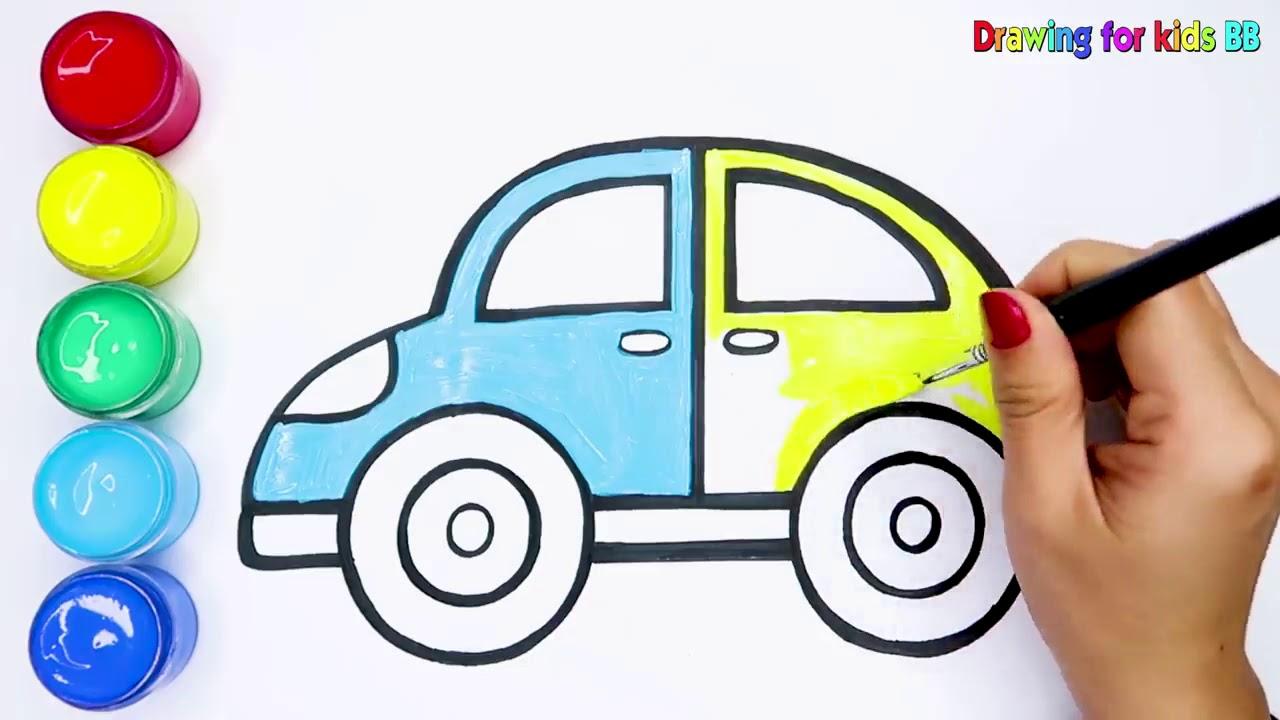 Oyuncak Araba Boyama Ve Cizimi Youtube