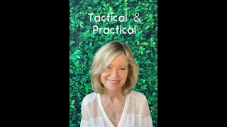 Tactical & Practical: Joy on purpose!