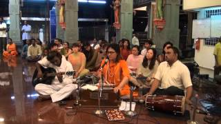 Chong Chiu Sen -  Navarathri 2012 Temple Indian Devotional Music Performance