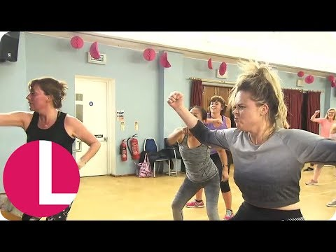 I'm a Celeb's Emily Atack Crashes Lorraine's Dance Class | Lorraine