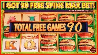 I GOT 90 FREE SPINS ON MAX BET | LION FESTIVAL BOOSTED CELEBRATION |