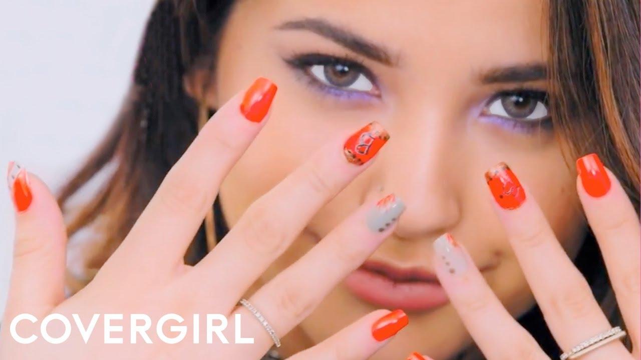 Becky G Diy Nail Art Designs Covergirl Youtube