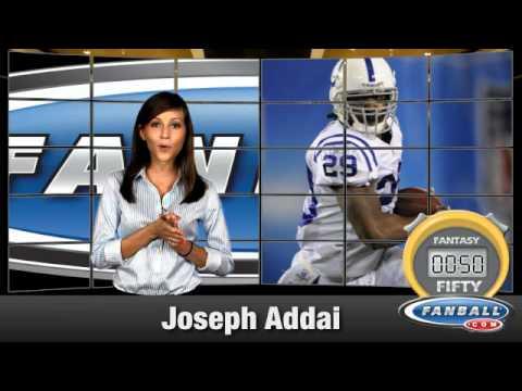 Fantasy:50 - Joseph Addai