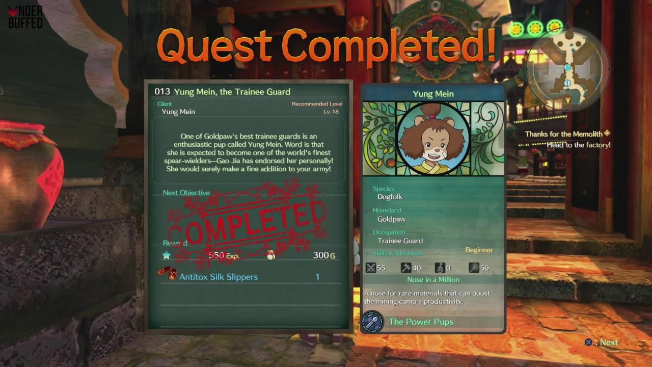 ni no kuni 2 side quests