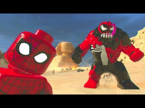 LEGO Marvel Super Heroes 2 - Egypt 100% Guide (All Collectibles)