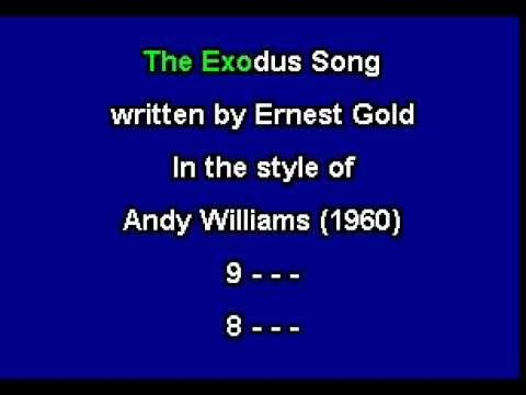 The Exodus Song for Karaoke