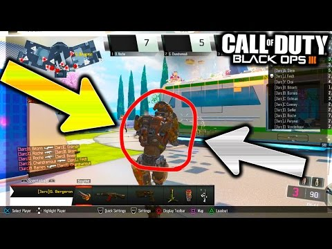 BLACK OPS 3 BOT FINDS SECRET WEAPON IN CALL OF DUTY! LEAKED NEW DLC GUN GAMEPLAY (COD BO3)