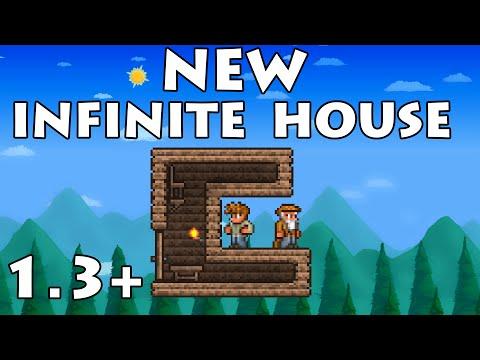 [UPDATED] Infinite NPC House   Terraria 1.3