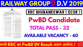 Railway group d DV Date RRC BHUBANESWAR for PwBD candidate thumbnail