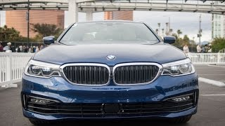 ces 2017 the image actual 2017 bmw 5 series