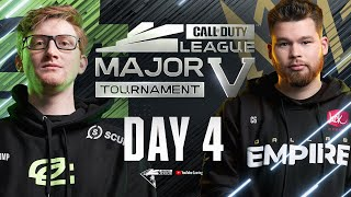 Call Of Duty League 2021 Season | Stage V Major Tournament | Day 4