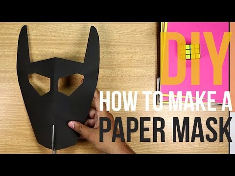 DIY | How To Make a Paper Mask