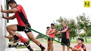 日本屈指のラガーマン達の身体能力&トレーニング【ラグビー】 thumbnail