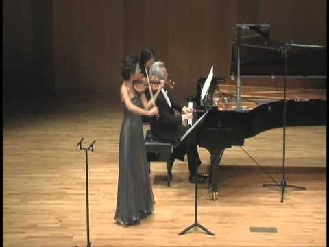 Fabiola Kim(Violin)&Dae Jin Kim(Piano), L. Janackek - Sonata for Violin & Piano, JW 7/7 IV. Adagio