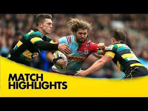 Northampton Saints v Harlequins - Aviva Premiership Rugby 2016-17