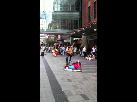 Sydney Busking - incredible talent!