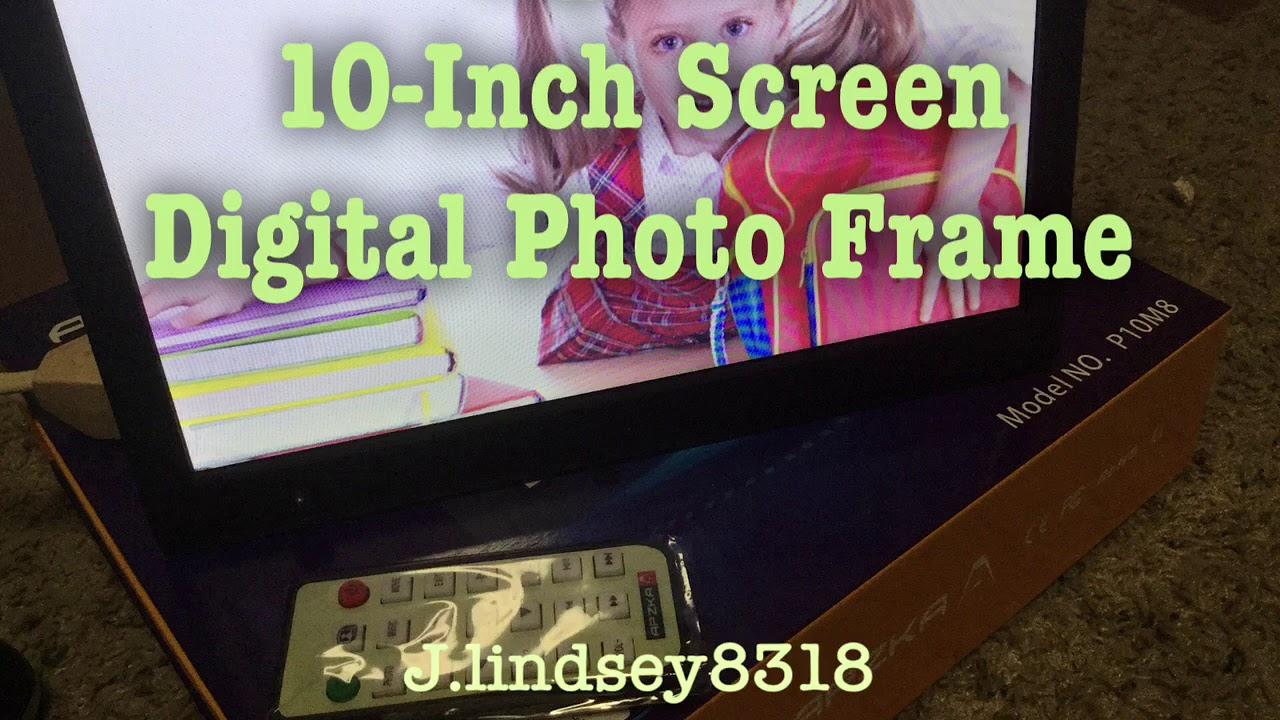 Apzka 10 Inch 169 Ips Screen Digital Photo Frame Support Display