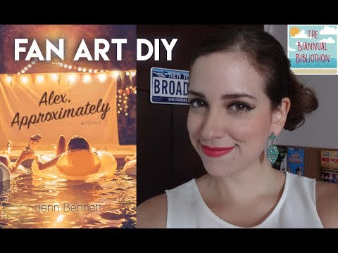 FAN ART DIY - BIBLIOTHON DAY 1!