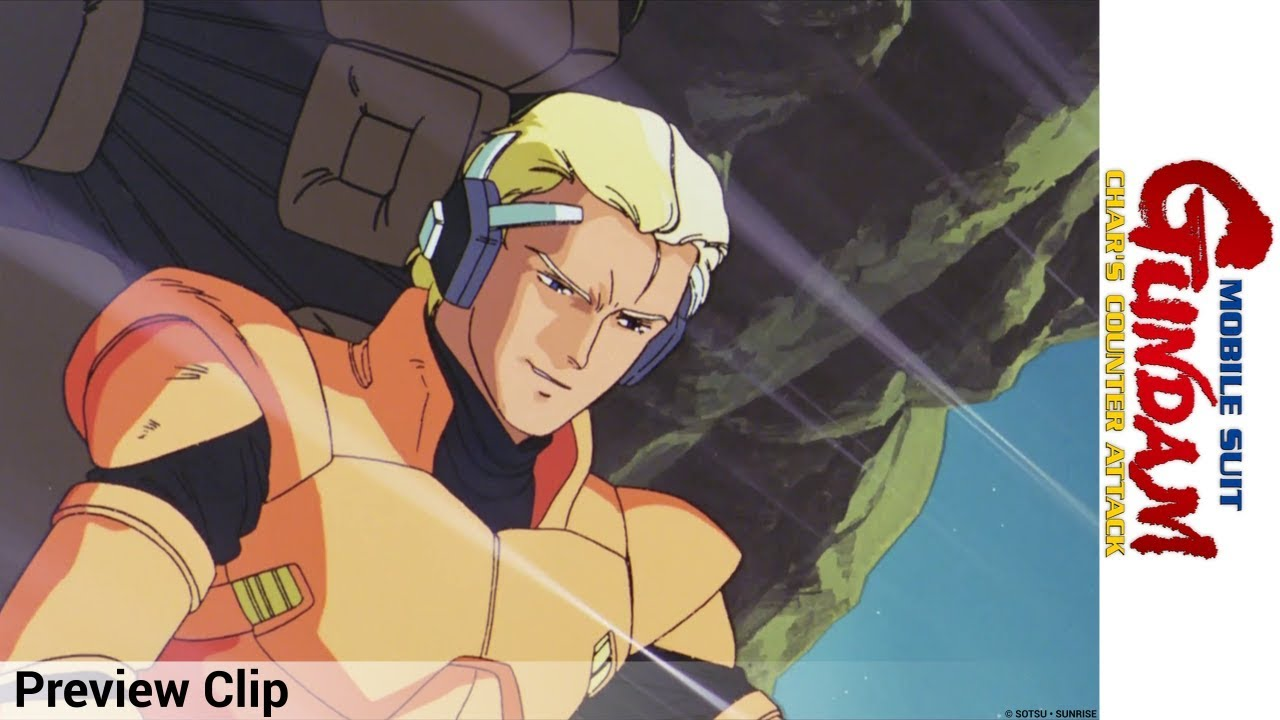 Mobile Suit Gundam Char S Counter Attack Preview Clip Youtube